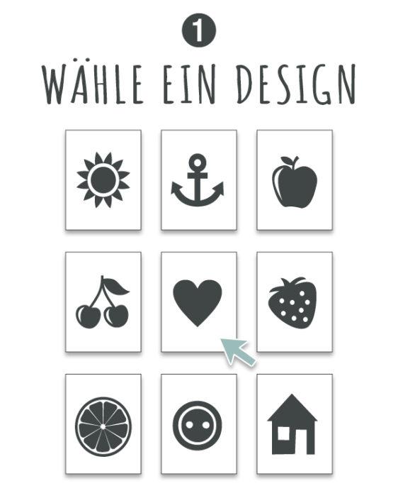 poster selbst gestalten - online poster personalisieren - wahle ein design