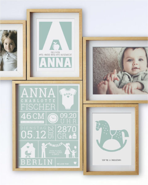 Personalisierter-Poster-Mutter-Vatertag-