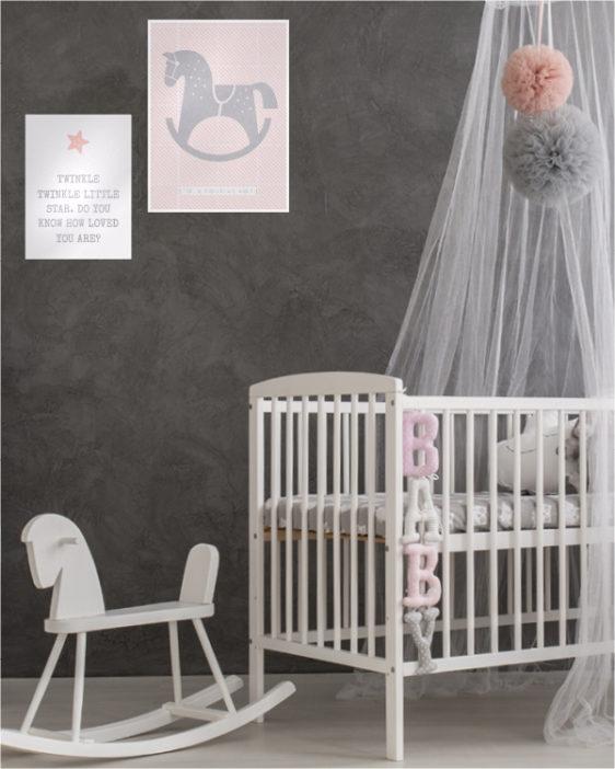 artprint schaukelpferd erstelle hier poster mit deinem text. Black Bedroom Furniture Sets. Home Design Ideas