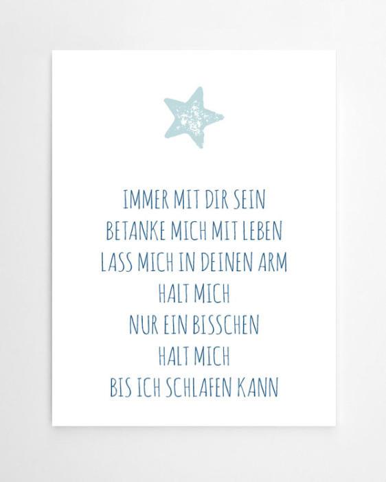 Stern Print mit Deinem Text - Text-Prints und Quote Poster online selber gestalten bei Printcandy