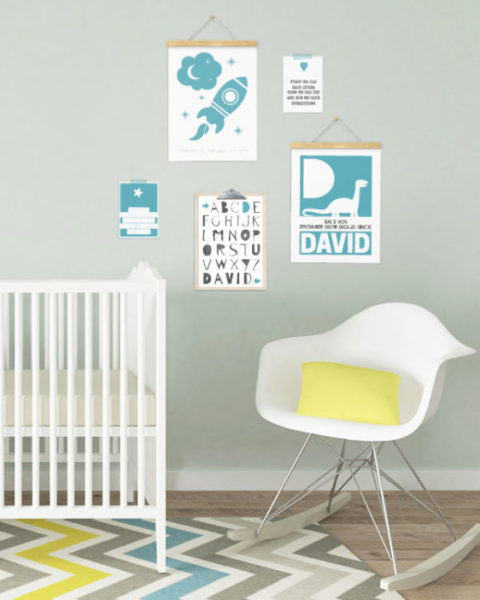 geburtsposter-personalisiert-schwarz-weiss-babyzimmer