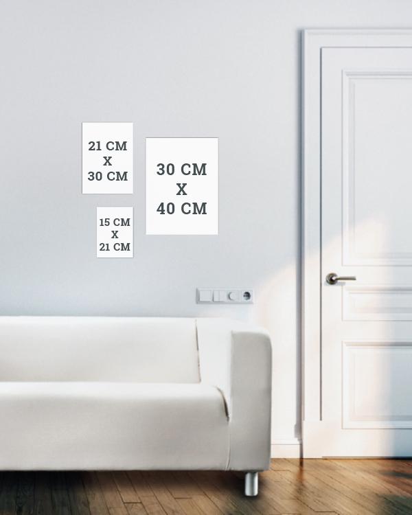 wandcollage selber machen tipps tricks formate. Black Bedroom Furniture Sets. Home Design Ideas