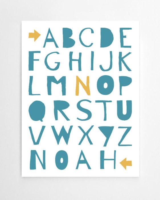 Poster Selber Machen: Designe Dein ABC Poster. Simpel Und Kreativ