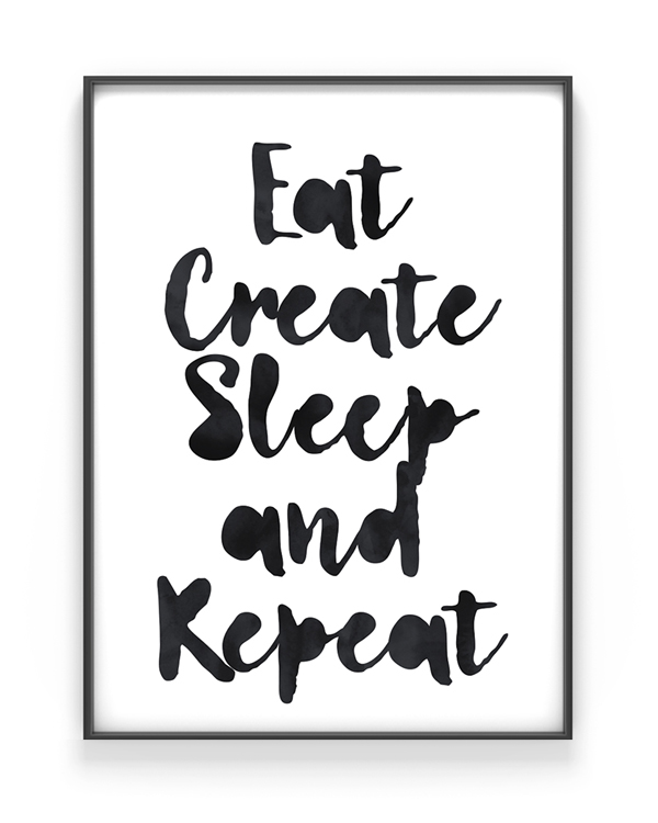 printcandy poster mit deinem zitat selbst gestalten. Black Bedroom Furniture Sets. Home Design Ideas