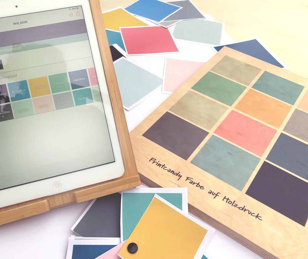 Farbe Personalisierte Poster | Printcandy