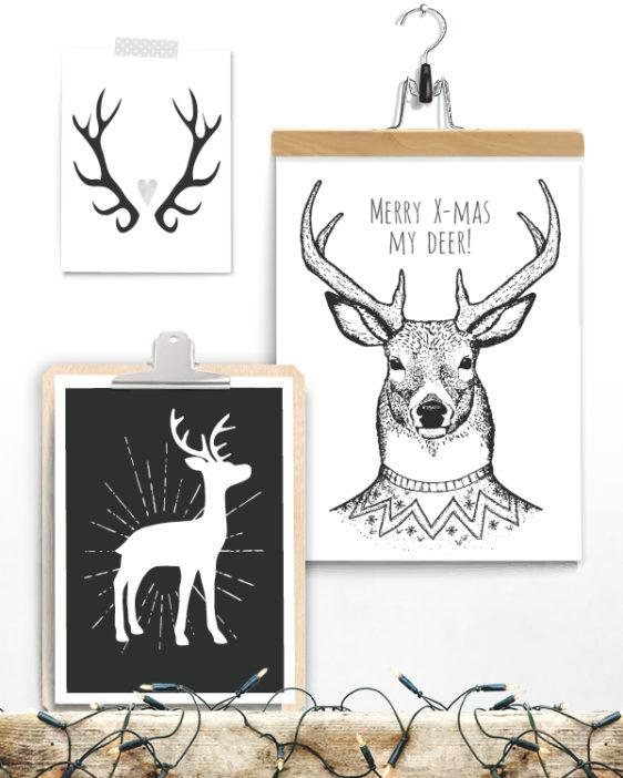 Poster zu Weihnachten - Große Auswahl - Printcandy