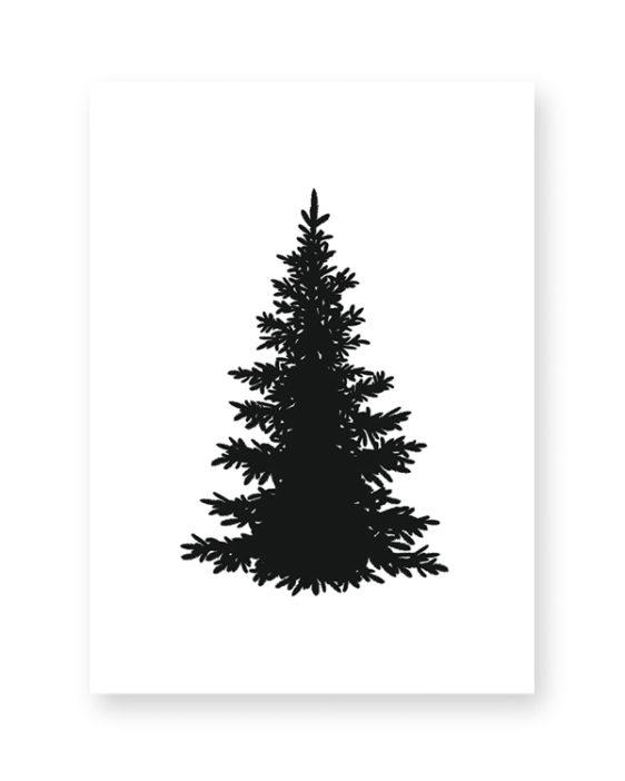 Weihnachtsbaum Schwarz.Weihnachtsdeko Set Tannenbaum