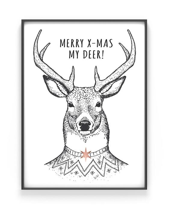 Poster Weihnachten selber gestalten mit Printcandy