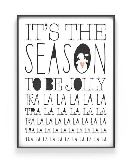 X-mas-Poster zu Weihnachten - Dein Fineart Print personalisiere es hier bei Printcandy