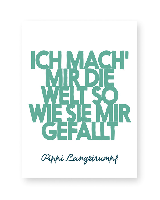 Quote Print | Poster mit Eigenem Text | Printcandy