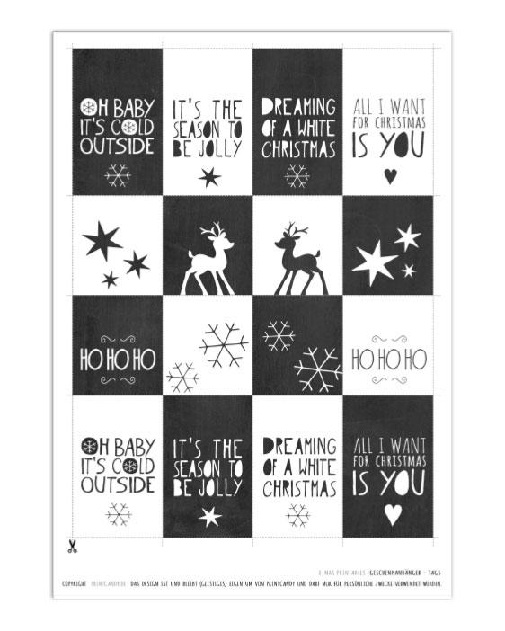 Kostenlose-Druckvorlagen-weihnachts-printables-schwarz-weiss