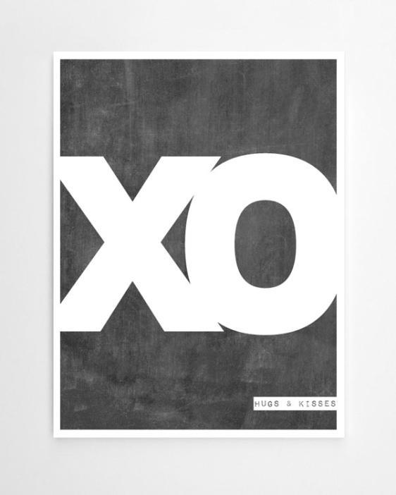 Poster 'Words'-personalisiere hier online Deinen Print