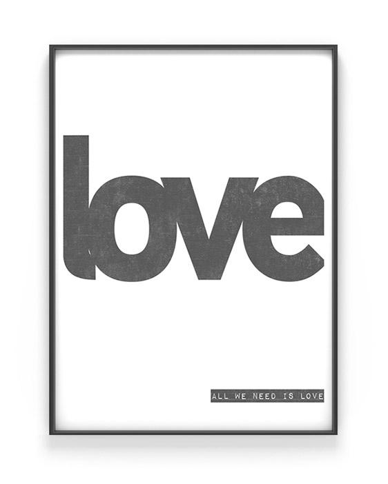 Word Poster | Personalisiere hier online Deinen Print | Printcandy