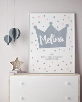 Kinderzimmer Poster selbst gestalten mit Printcandy