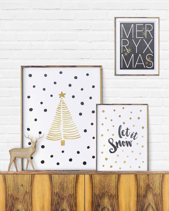 Weihnachtsbaum Poster - Printcandy