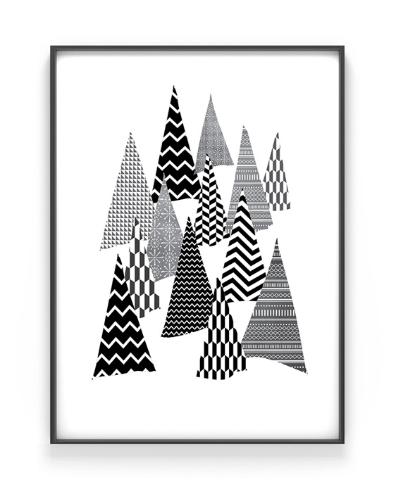 Winter Wonderland Poster | Winterwald | Printcandy